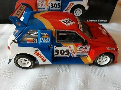 1:18 CODE 3 MG METRO 6R4 BIGGERSTAFF 1992 CHAMPION Rally X Race Motorsport • 102£