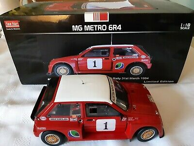 RARE 1:18 CODE 3 MG METRO 6R4 PROTOTYPE POND 1984 YORK NAT Rally Race Motorsport • 57£