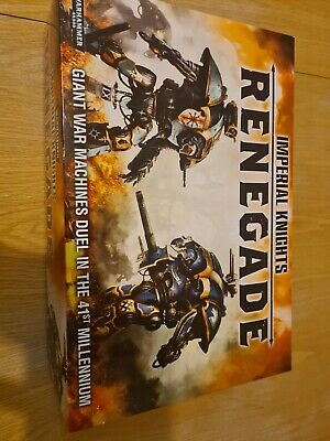 Warhammer Imperial Knights Renegade 1st Edition Unused Good Christmas Gift • 200£
