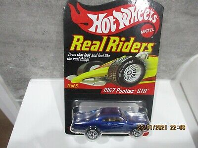 Hotwheels Rlc Collectors.com  Real Riders 1967 Pontiac Gto Rubber Tyres  • 40£