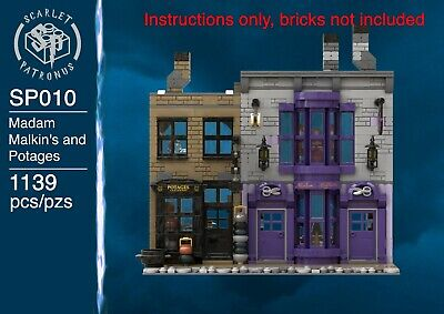 LEGO Madam Malkin's And Potages Diagon Alley Expansion Instructions • 7.50£
