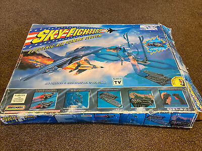 Vintage Matchbox Sky Fighters Electric Air Combat System -Complete • 15£