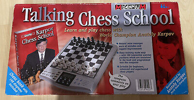 Talking Chess School With ANATOLY KARPOV Chess Training 100 Interactive Exercise • 29.99£