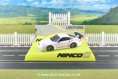 Ninco 50559 Porsche 997 White Lightning. Brand New, Unrun, Mint & Boxed • 42.95£