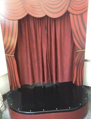 Child's Wooden Puppet Stage Theatre • 300£
