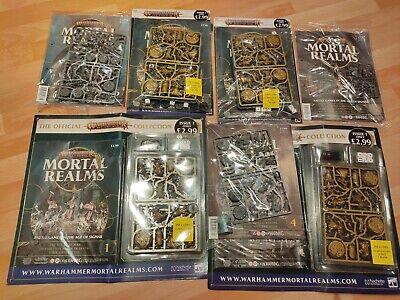 Warhammer Age Of Sigma Mortal Realms (4 Copy's Of Issue 1) Issue's 4,5,6 Bundle • 59£