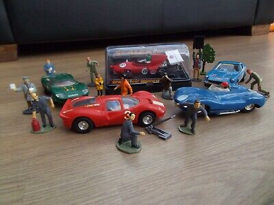Vintage Scalextric 5 Cars And Accessories Job Lot • 52£