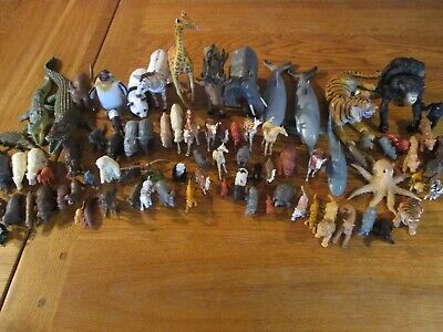 ZOO/WILD ANIMALS Mixed Sizes Approx 80 • 10£