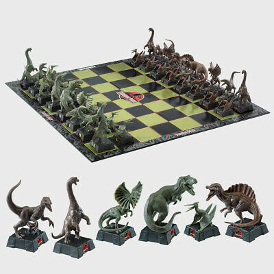 Jurassic Park Chess Set By The Noble Collection • 44.99£