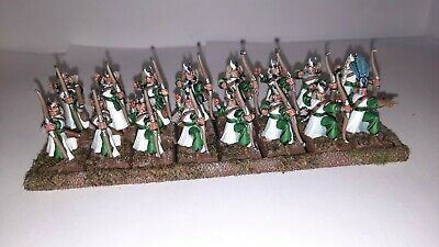 High Elf Archers X16 Built And Painted • 15£