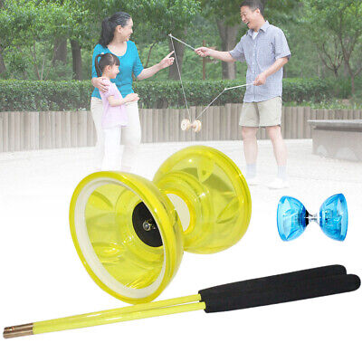 High Speed Hobbies Professional Bearing With Rope Light Glow Diabolo Set Classic • 15.88£