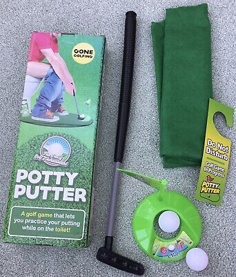 Brand New In Box Potty Putter Novelty Golf Game • 3£