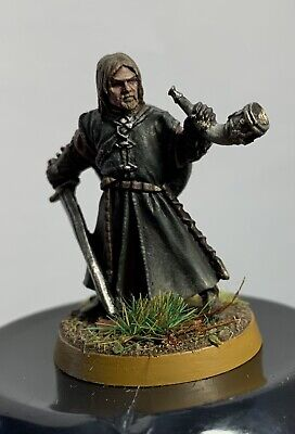 Games Workshop Lord Of The Rings. Metal Boromir Well Painted And Based • 17.50£
