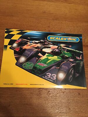 Scalextric Model Slot Racing 44th Edition 2003 56 Page Catalogue C8103 One Only! • 5£