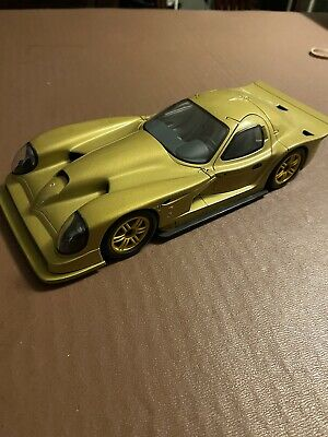 1:18 Autoart Panoz Esperante GTR-1 Gold With Gold Wheels Boxed. See Description • 39.99£