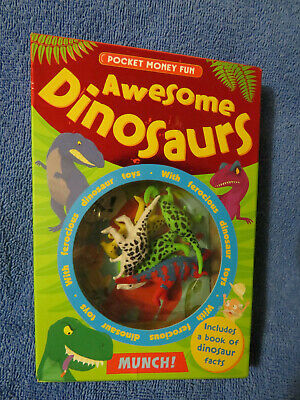 Pocket Money Fun Awesome Dinosaurs • 0.99£