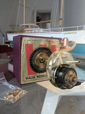 WADA WORKS Model Steam Turbine - New In Box. • 151£