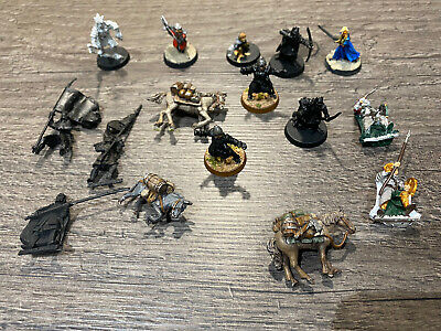 Warhammer Games Workshop Lord Of The Rings Job Lot Metal And Finecast • 35£