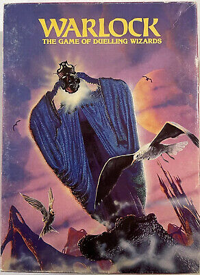 Warlock - The Game Of Duelling Wizards - Games Workshop 1980 • 10£