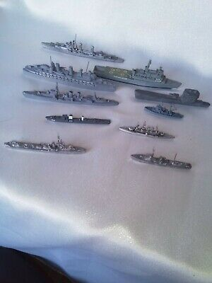 Minic And Other Diecast Navel Ships Submarine HMS Fearless Job Lot  • 27£