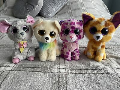 "Set Of 6"" Ty Beanie Boos Teddy Soft Toy • 5£"