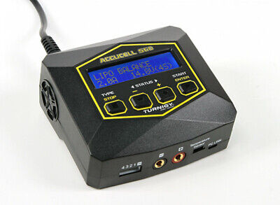 Turnigy Accucell S60 AC Charger (UK Plug). Charge Battery Packs Up To 4S  • 26£