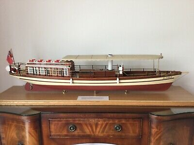 Model Boat Alaska Thames Steam Launch.FREE UK DELIVERY Terms Apply. • 499£