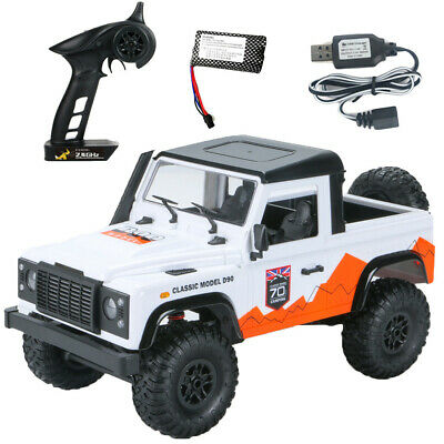 4WD Rtr Crawler Rc Auto Voor Land Rover 70 Anniversary Edition Voertuig Model UK • 49.98£