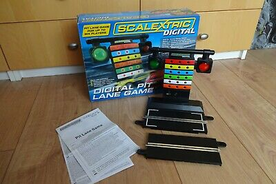 Scalextric C7041 1/32 Slot Car Digital Pit Lane Game • 10£