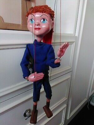RARE SL TWIZZLE PELHAM PUPPET 1957-62 WITH  BOX VINTAGE GERRY ANDERSON With Box • 50£