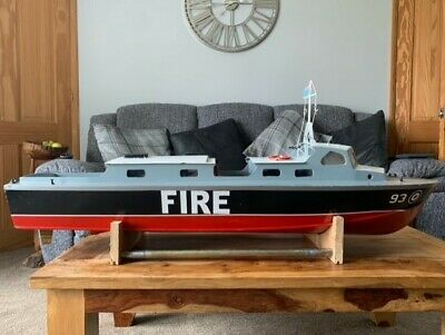 RC Wood Fire Boat Project • 100£