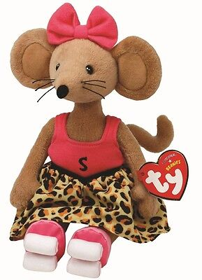 Ty Beanie Babies 46222 Rastamouse Scratchy The Brown Mouse Regular • 7.95£