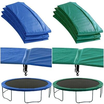 Replacement Trampoline Pads Safety Foam Surround Spring Cover Padding Blue Green • 53.99£