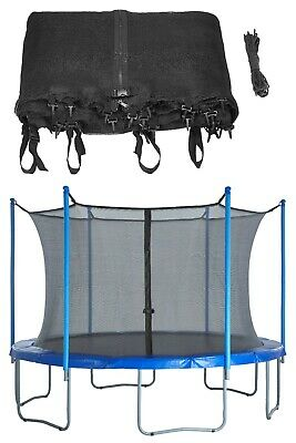 Replacement Trampoline Enclosure Surround Safety NET ONLY 8 10 12 13 14 15 16 Ft • 45.49£
