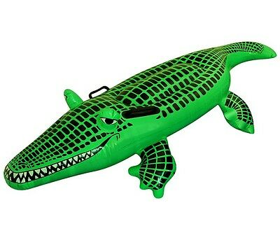 Inflatable Crocodile Fancy Dress Costume Beach Pool Toy Holiday Party Dundee • 7.95£