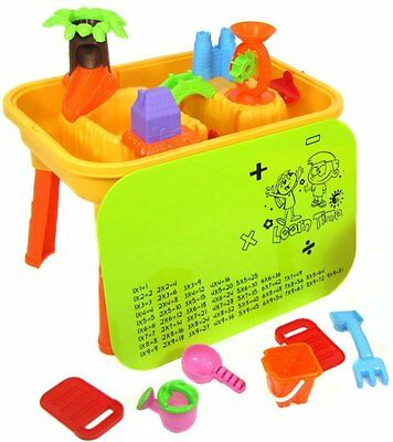 DeAO Sand And Water Table With Lid And 20 Accessories • 35.99£