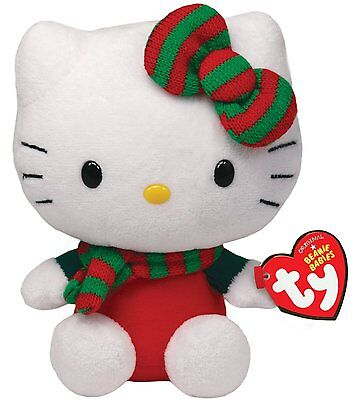 TY ** HELLO KITTY ** Red Christmas Outfit 6  Approx • 7.95£