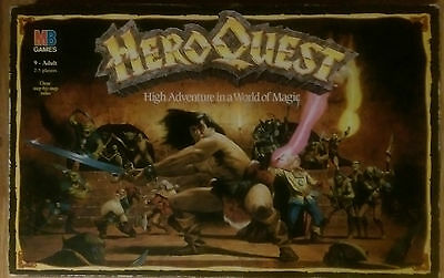 Hero Quest (inc Expansions)  (MB Games 1989) - Spares - Miniatures / Characters  • 2.50£