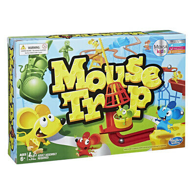 Mouse Trap Board Game - The Crazy Game With 3 Action Contraptions • 22.99£