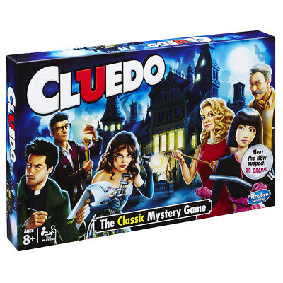 Cluedo The Classic Mystery Family Board Game • 23.99£