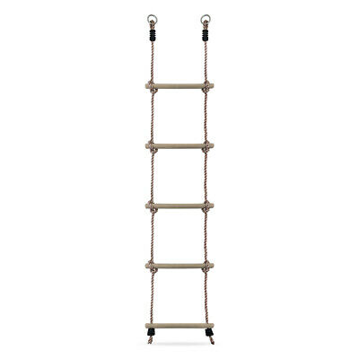 Kids Rope Ladder For Childrens Outdoor Climbing Frame And Tree House  • 10.99£