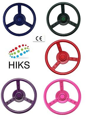 Toy Steering Wheel For Kids Climbing Frames Play And Tree Houses  • 9.85£