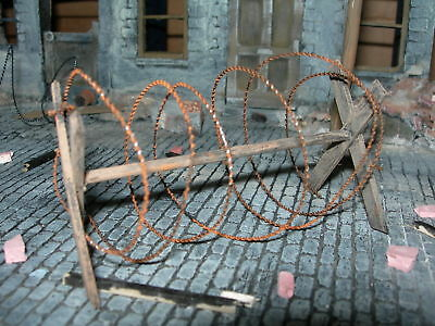 1/35 Scale Simulated Barbed Wire 2 Meter Pack - Wire Only • 3.49£