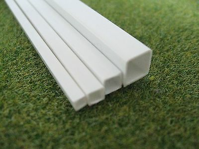 Square Tube Styrene ABS Strip Section Architecture Model Making 3mm - 10mm Size • 1.80£