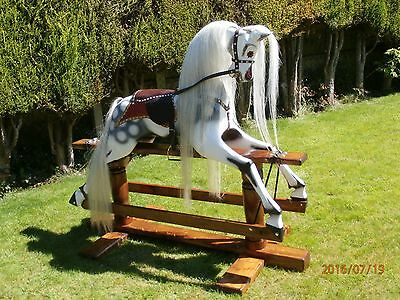 Extra Large  Wooden Victorian Style Rocking Horse  Reduced From £1900 • 1,500£