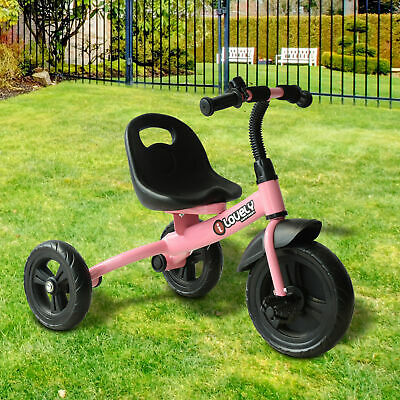 HOMCOM Baby Kids Children Toddler Tricycle Ride On Trike 3 Wheels • 30.99£