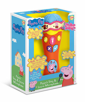 Peppa Pig's Singalong & Learn Microphone - NEW • 14.99£