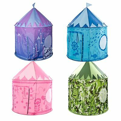 Trespass Chateau Castle Kids Pop Up Play Tent Party Indoor Outdoor Garden Toys • 19.99£