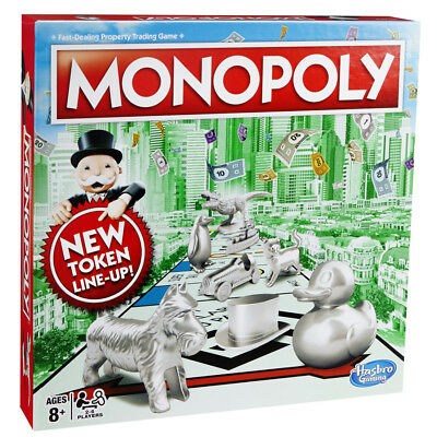 Monopoly Classic New Token Line Up - BRAND NEW • 19.95£