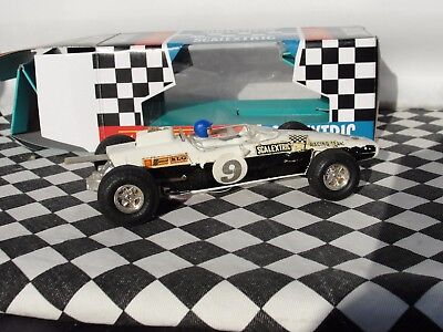 Scalextric 1960's Team Car  #9  White   C19    1.32  Used Boxed • 59.99£